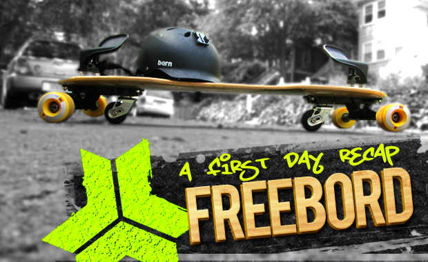First day recap on a freebord