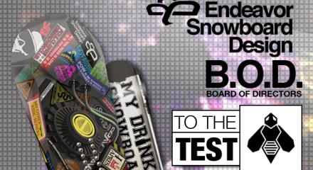 Endeavor Snowboards Board of Directors B.O.D.