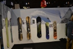 YES. Snowboards booth SIA 2013