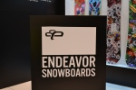 Endeavor Snowboards Booth SIA 2013