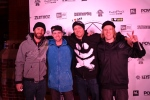 Matt Piercey and the Aratik Crew with Nev Lampwood from Snowboard Addiction
